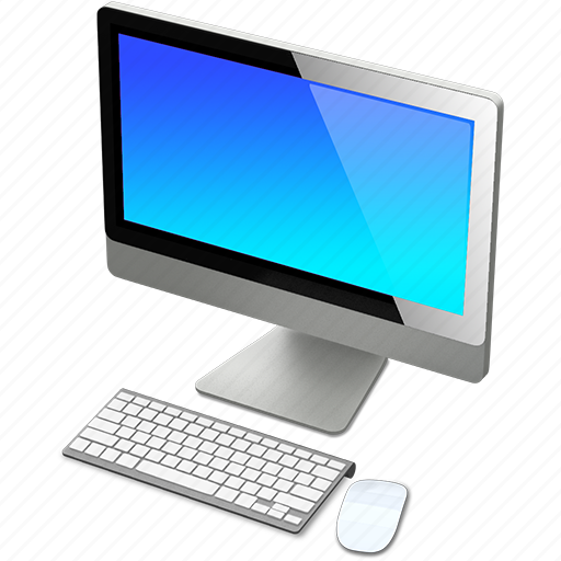 apple, blue, computer, imac, mac icon
