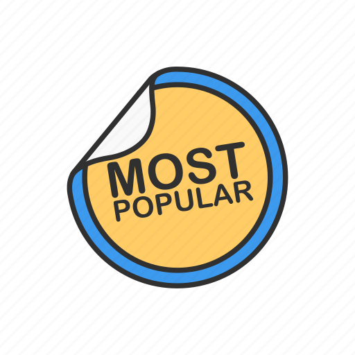 best seller, favorite, most popular, top icon