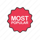 award, best seller, favorite, most popular icon