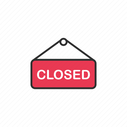 closed, shop, unaccessible, unavailable icon