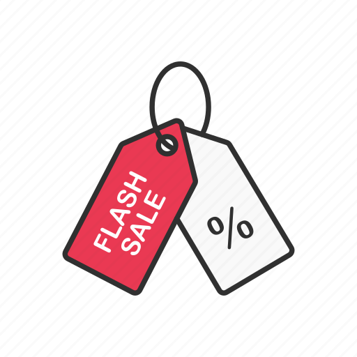 discount, flash sale, sale, shopping icon