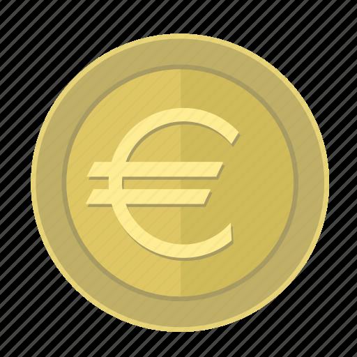 coin, euro, europe, money, pay icon