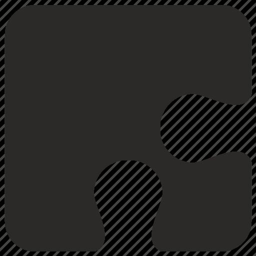 corner, game, logic, piece, puzzle icon