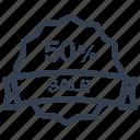 guarantee, label, percent, sale