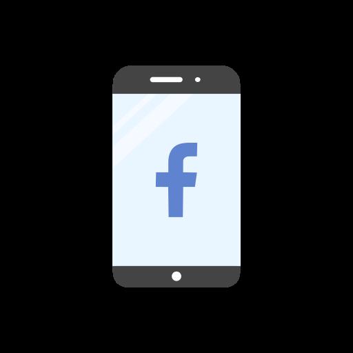 facebook, facebook logo, mobile, website icon