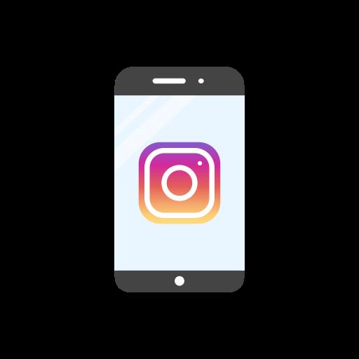 camera, instagram, instagram logo, mobile icon