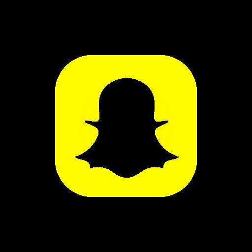 bell, logo, snapchat, snapchat logo icon