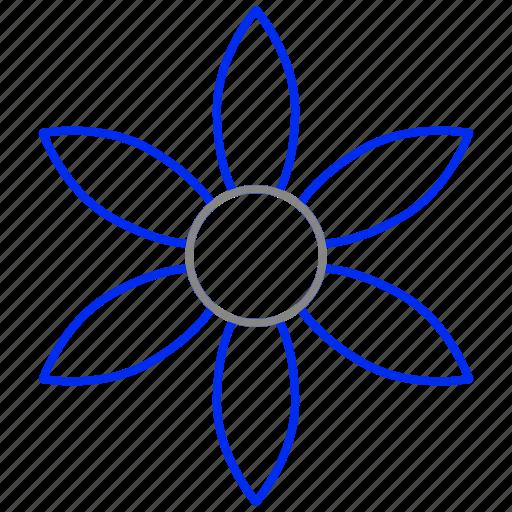 bloom, flower, herb icon