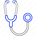 cardiology, doctor, stethoscope icon