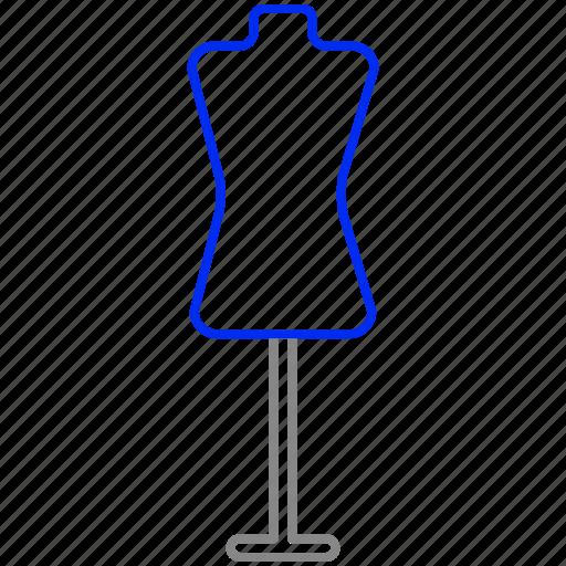 dummy, manikin, mannequin icon