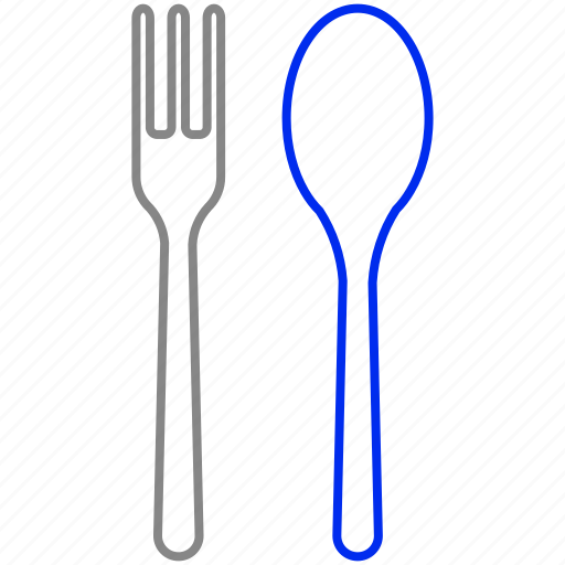 fork, meal, spoon icon