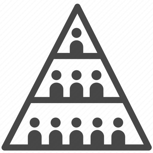 analytics  chart  citizen  people  population  pyramid  statistic icon