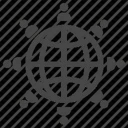 citizen, global, international, nationality, people, population, world icon