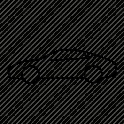 automobile, car, carrera, porsche, transport, transportation, vehicle icon