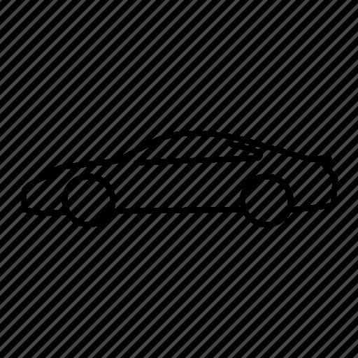 automobile, car, porsche, porsche 911, transport, transportation, vehicle icon