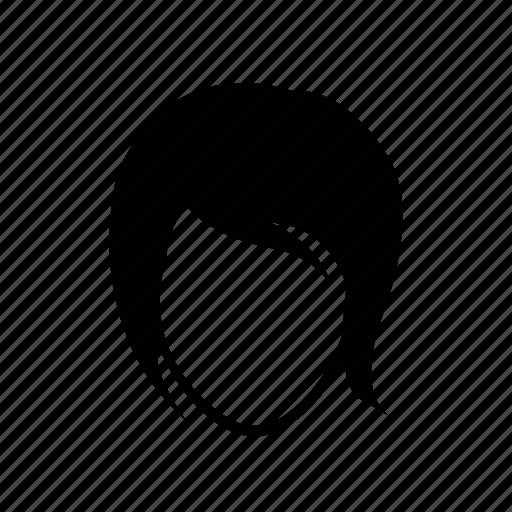 face, female, portrait, short hair, user, woman icon