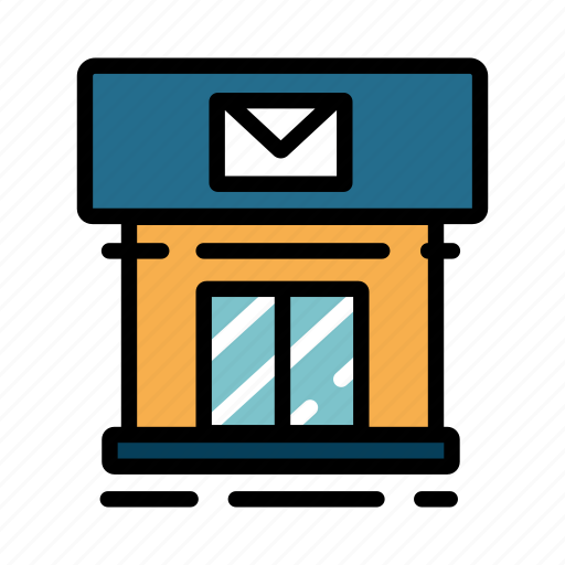 delivery, mail, office, post, postal, service icon