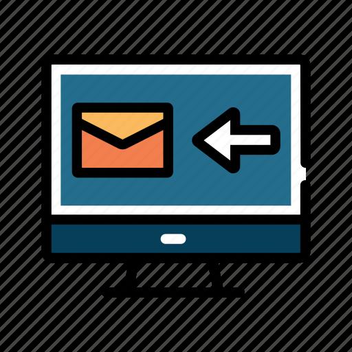 email, inbox, letter, mail, send, sending, sent icon