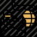 airmail, service, international, shipping, express