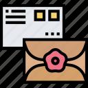 envelope, letter, mail, correspondence, communication