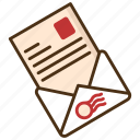 express, express mail, letter, mail, newsletter, receive, send icon