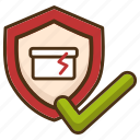 delivery, fragile, guarantee, package, post, protection, warranty icon