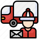 postman, professions, jobs, mailman, profess