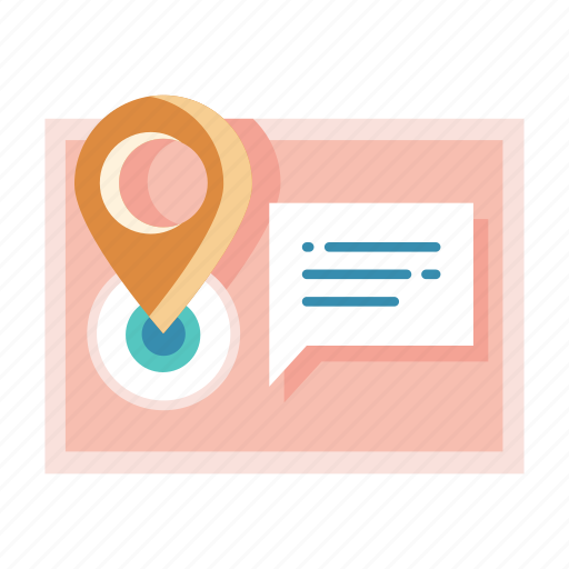 address, delivery, location, pin, postal, receiver, relocation icon