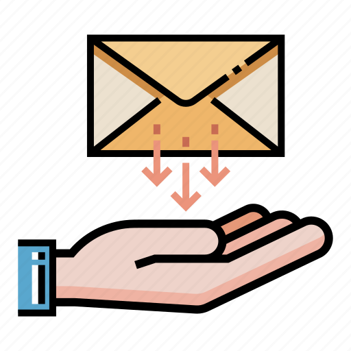 Email, inbox, mail, receive, receiver, receiving, sent icon - Download on Iconfinder