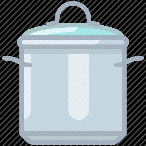 cooking, equipment, kitchen, lid, pot, restaurant, yumminky icon