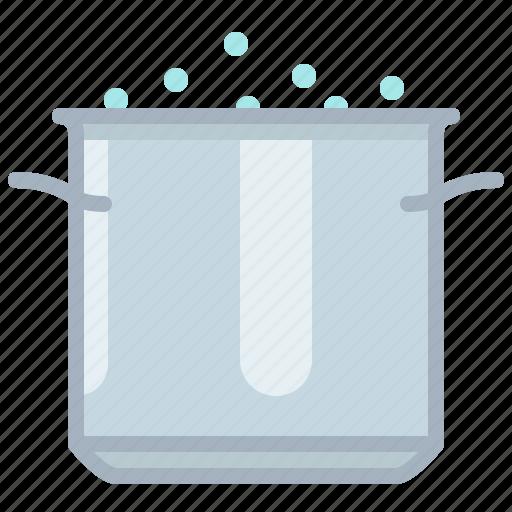 boil, cooking, equipment, kitchen, pot, restaurant, yumminky icon