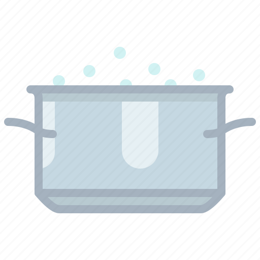 boil, cooking, equipment, kitchen, pot, restaurant, yumminky icon