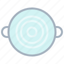 boil, cooking, kitchen, pot, restaurant, water, yumminky icon