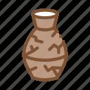 broken, ceramics, clay, kiln, pottery, vase