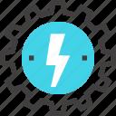cogwheel, electricity, energy, gear, industry, power, production