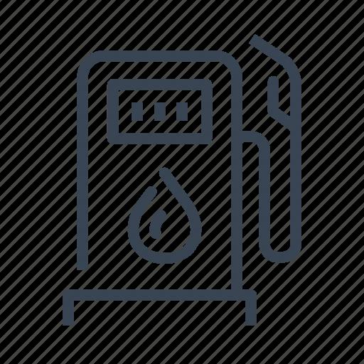 Gas, station, gasoline, pump, fuel icon - Download on Iconfinder