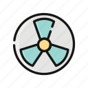 atom, eco, energy, nuclear, power, science, search icon
