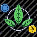 bio, biomass, eco, energy, green, power icon