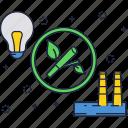bio, biomass, eco, energy, fuel, power, station icon