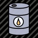 barrel, business, finance, oil icon