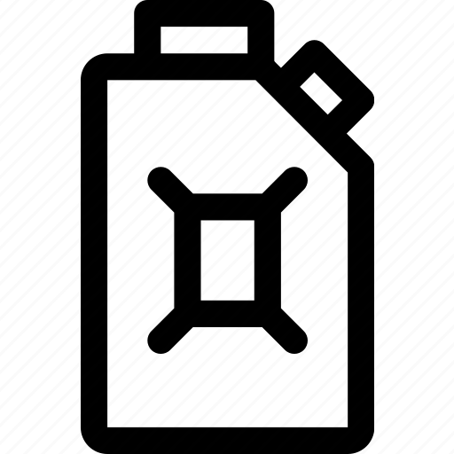 can, fuel, gas, jerrycan, oil, petrol, petroleum icon