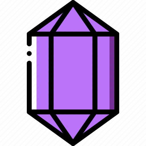 amethyst, diamond, gem, jewelry, precious, stone icon