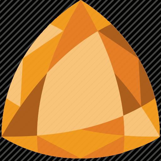 diamond, gem, jewelry, precious, stone, topaz icon
