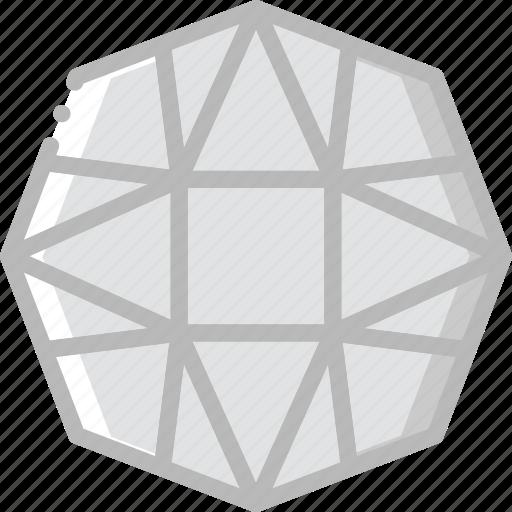 carnelian, diamond, gem, jewelry, precious, stone icon