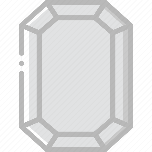 diamond, emerald, gem, jewelry, precious, stone icon