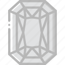 diamond, gem, jewelry, opal, precious, stone icon