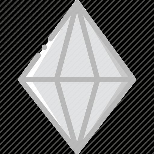 diamond, gem, jewelry, precious, stone, turmaline icon
