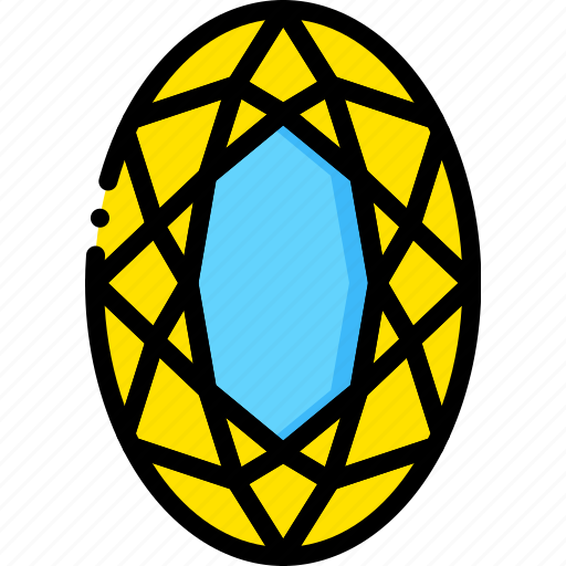 diamond, gem, jewelry, opal, precious, stone icon