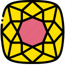 diamond, gem, jewelry, precious, ruby, stone icon