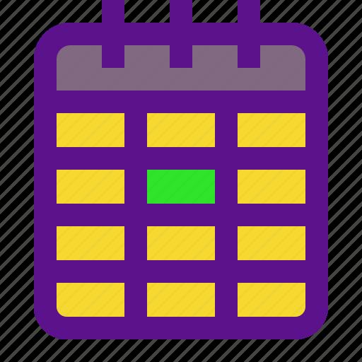 baby, calendar, plan, pregnant icon
